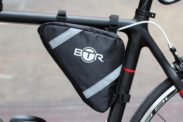 BTR Quality Bike Frame Corner Pannier Storage Bag - Water Resistant