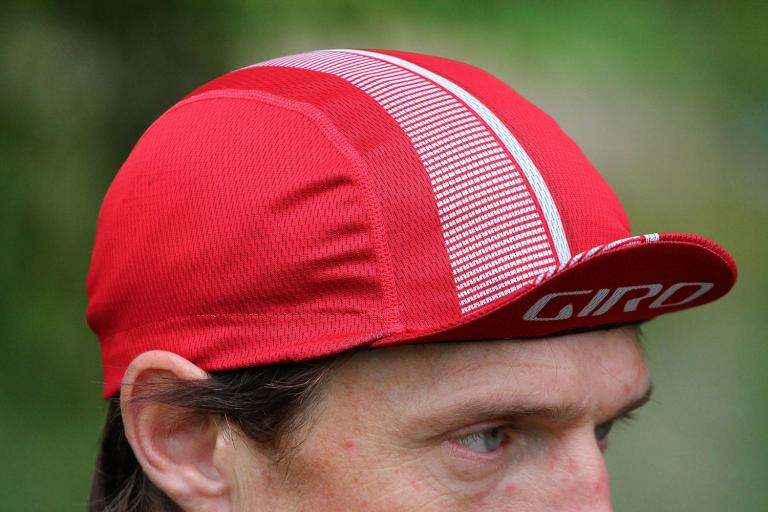 Giro Peloton cap - peak up
