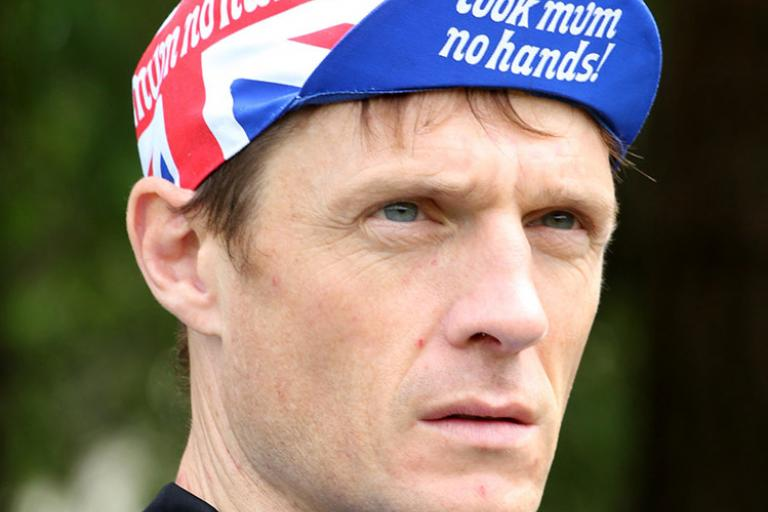 Look Mum No Hands Union Jack Hat