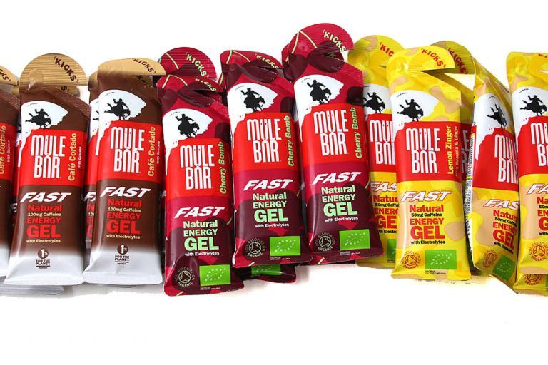 Mule Bar energy gels