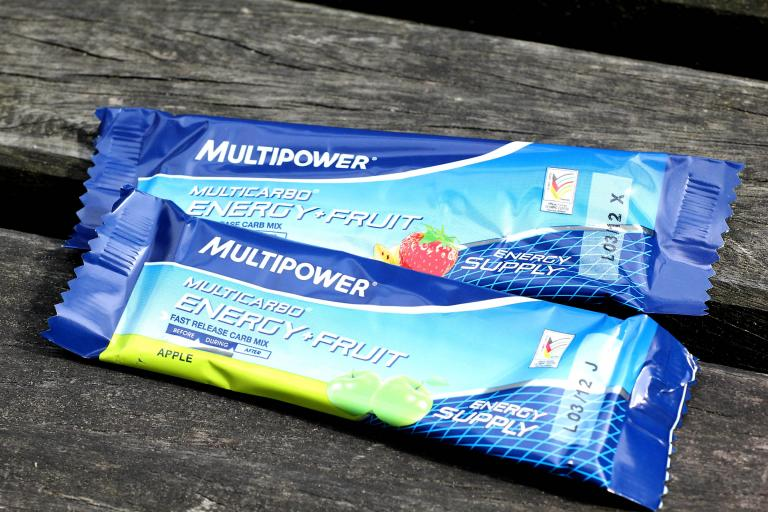 Multipower Multicarbo Energy Fruit Bars
