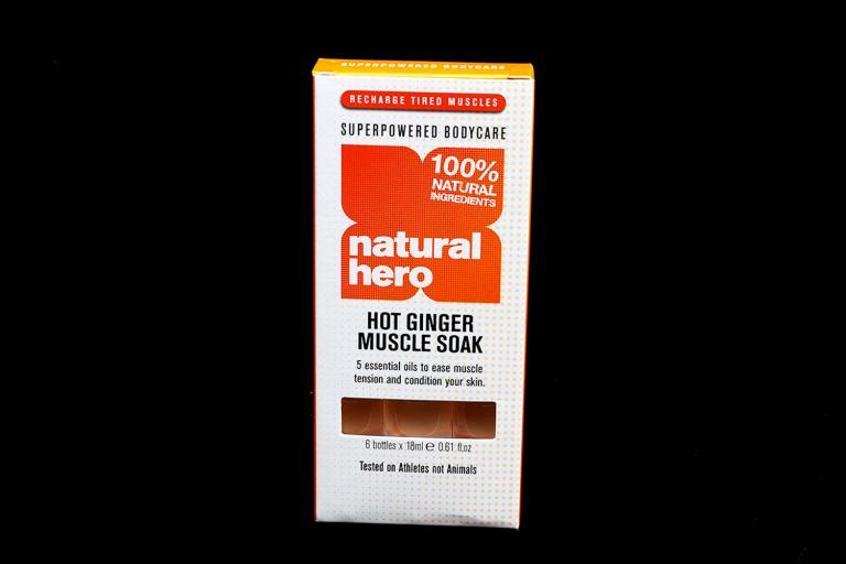 Natural Hero Hot Ginger Muscle Soak