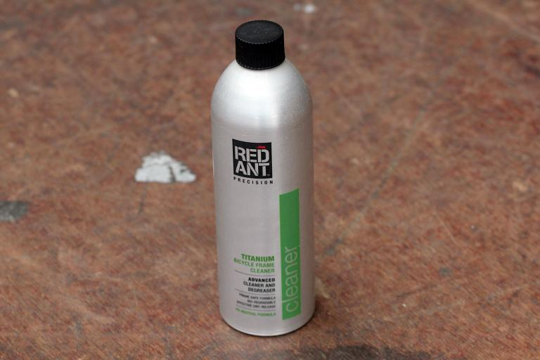 Red Ant Titanium Bicycle Frame Cleaner