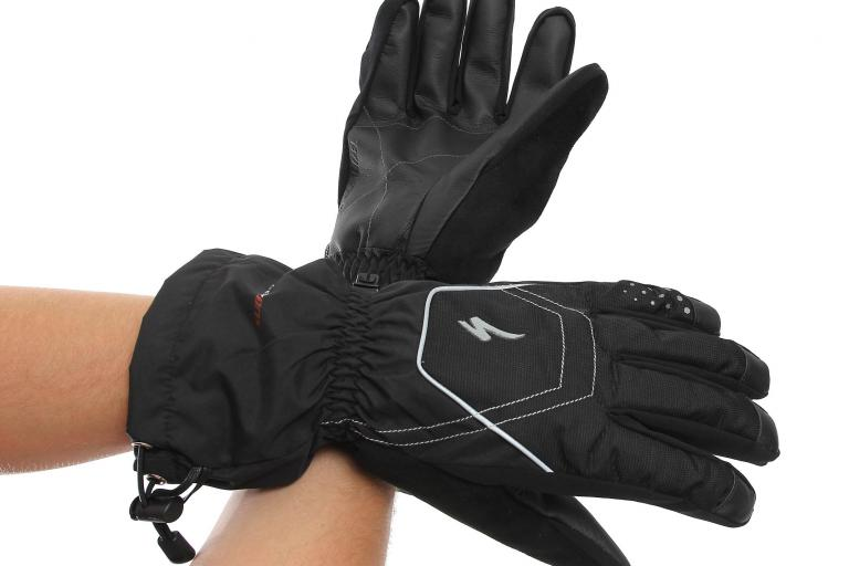 Specialized Sub Zero glove worn