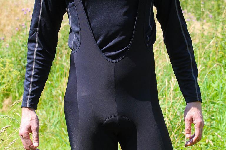 dhb Vaeon Roubaix Padded Bib shorts - front