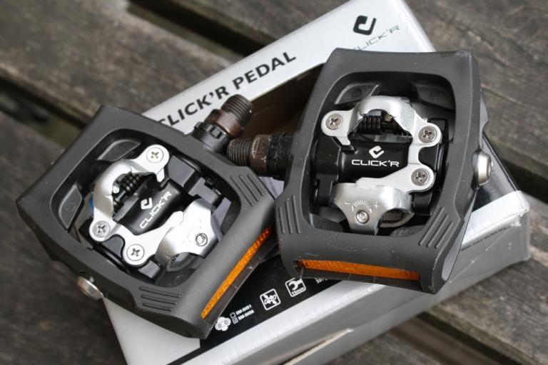Shimano Click'R pedals 12
