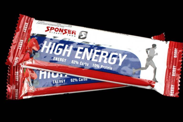 Sponser Sport Food High Energy Bar - Berry