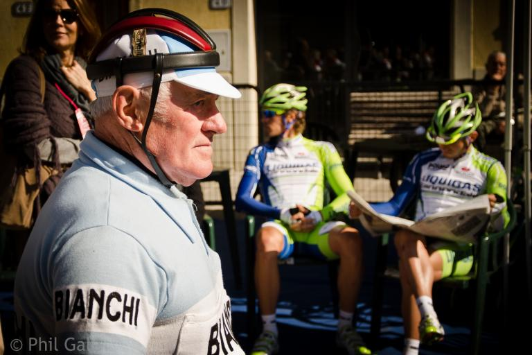 L'Eroica and Strade Bianche, historic and present (2012 Strade Bianche, © Philip Gale)