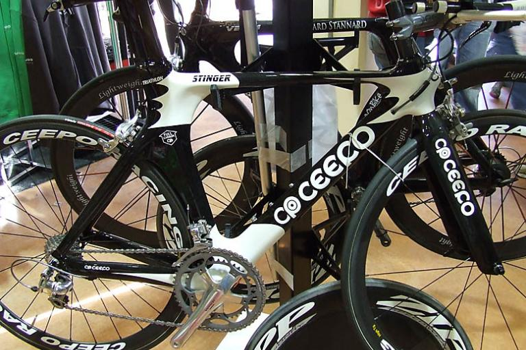 Ceepo Stinger triathlon bike