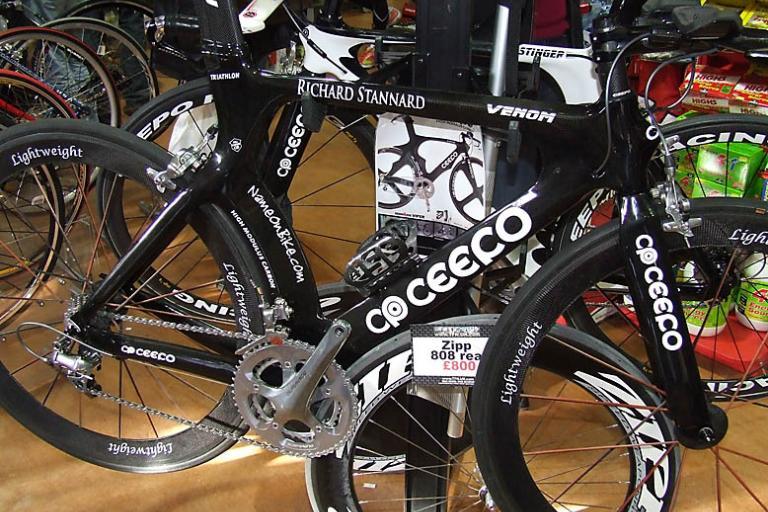 Ceepo Venom triathlon bike