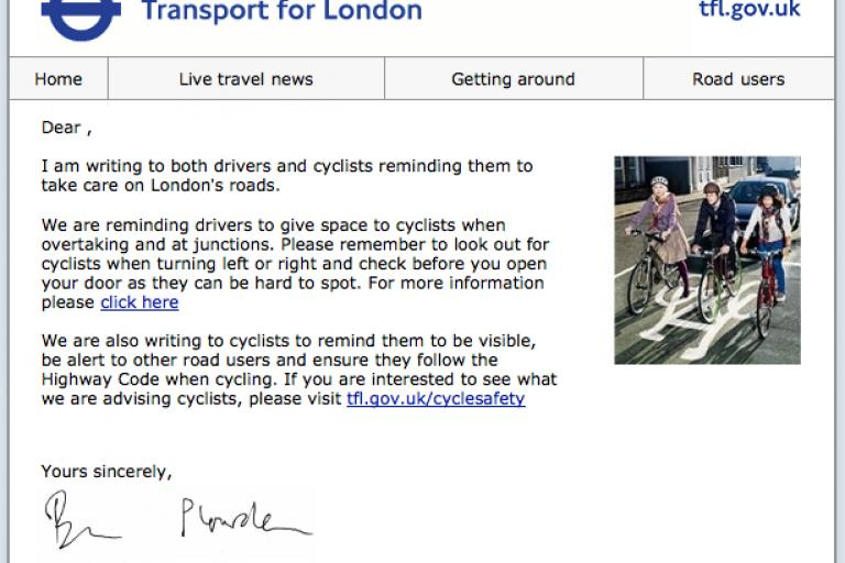 TfL drivers and cyclists email.png