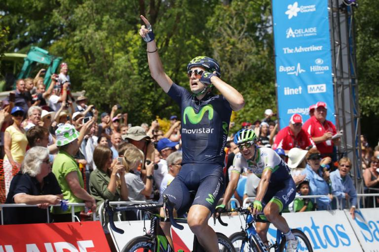 Tour Down Under 2015 Stage 2 02 Juan Jose Lobato wins (picture credit Regallo)