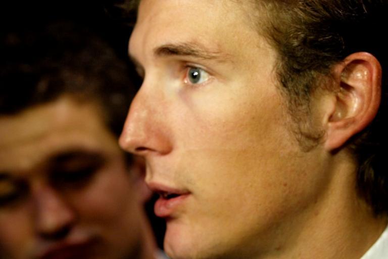 Andy Schleck at the 2011 Tour de France Presentation © Simon MacMichael