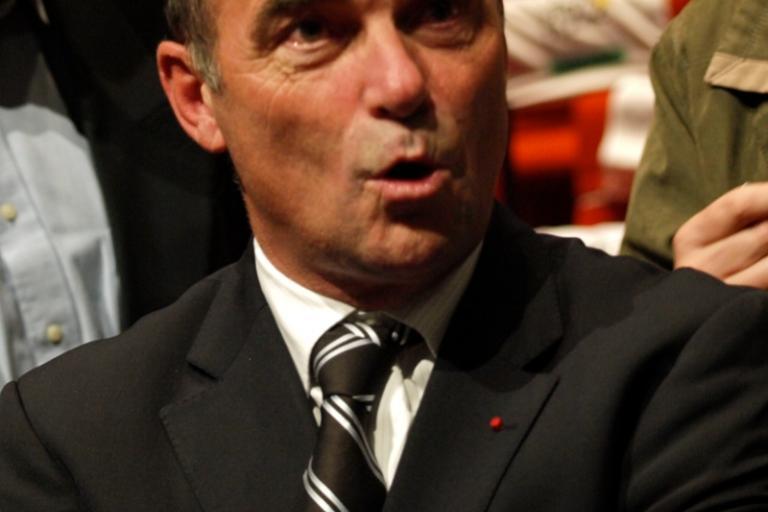 Bernard Hinault at the Tour de France 2011 Presentation © Simon MacMichael