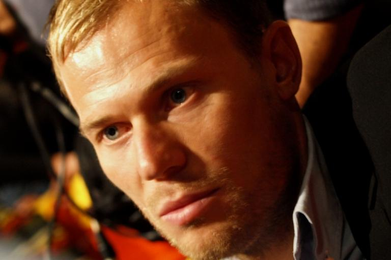 Thor Hushovd at the 2011 Tour de France Presentation © Simon MacMichael