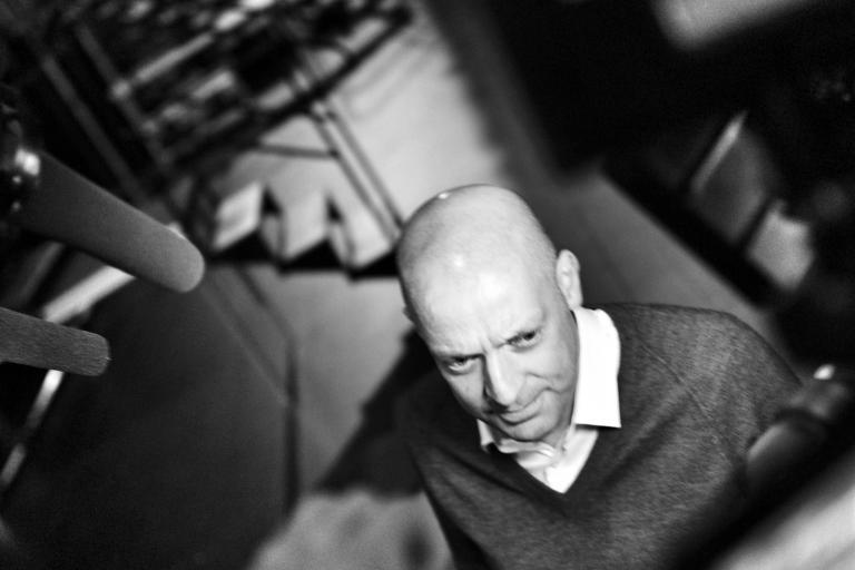 09 Dave Brailsford at the TDF 2013 launch © Simon MacMichael