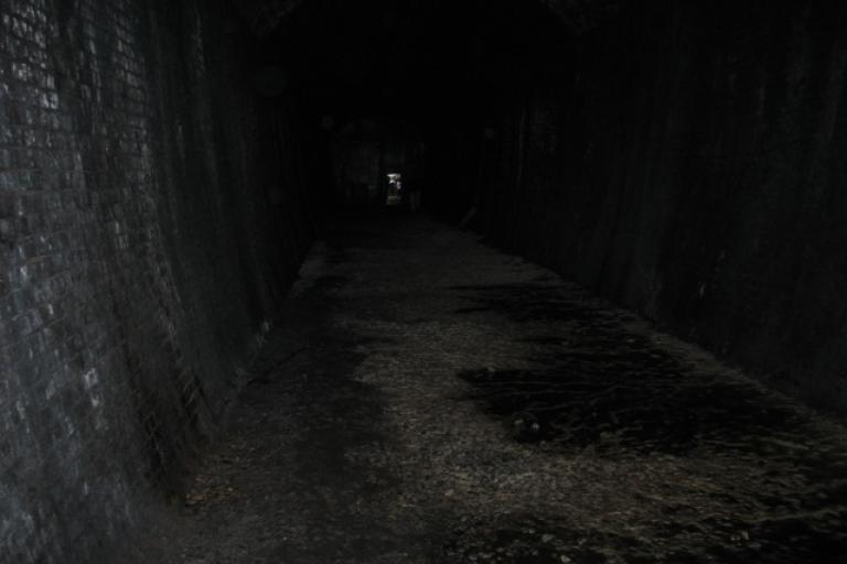 Two tunnels - the other end