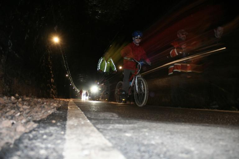 Two Tunnels opening - riding 2