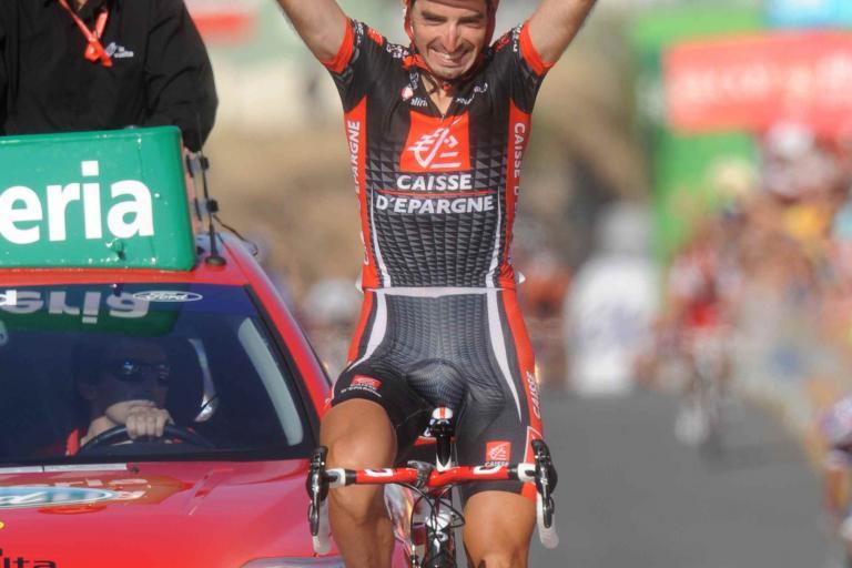 David Lopez wins Stage 9 of the 2010 Vuelta (copyright- Unipublic:Graham Watson)