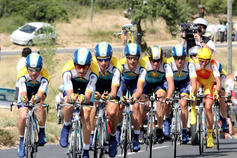 Tour de France 2009 Stage 4: Astana winning team time trial