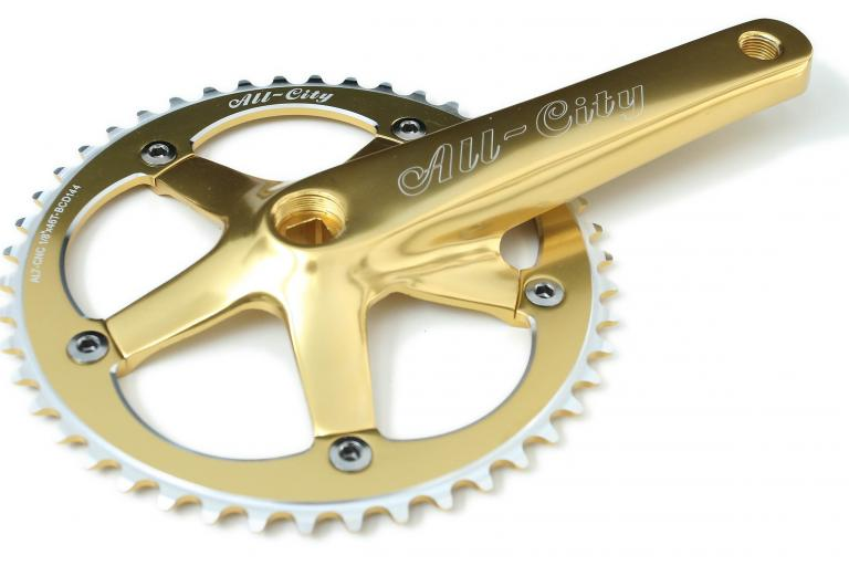 All City 612 Track chainset