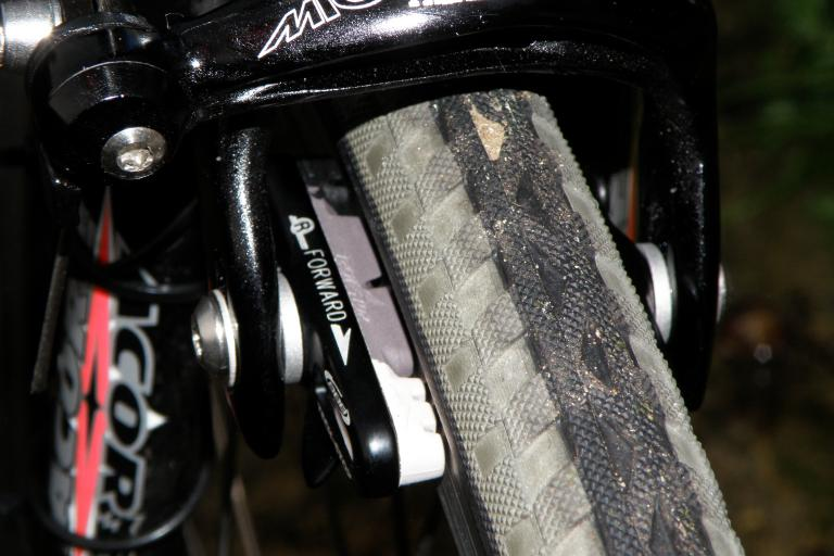 BBB Tech Stop Pads on bike