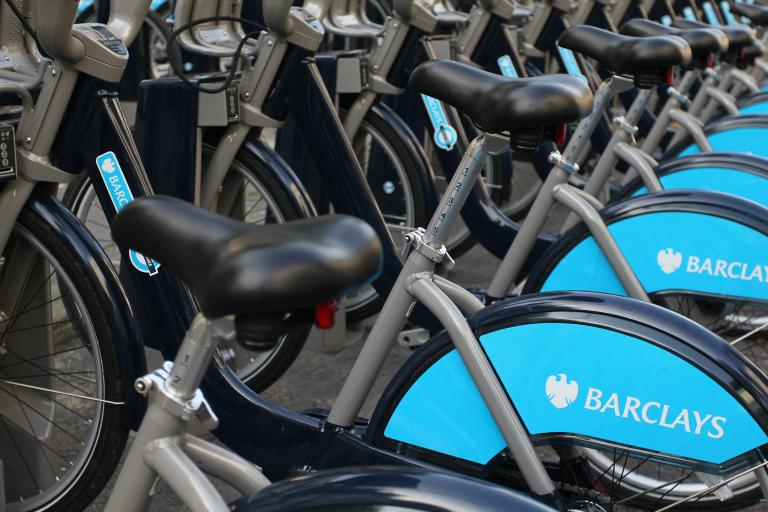 Barclays Hire Bikes 2