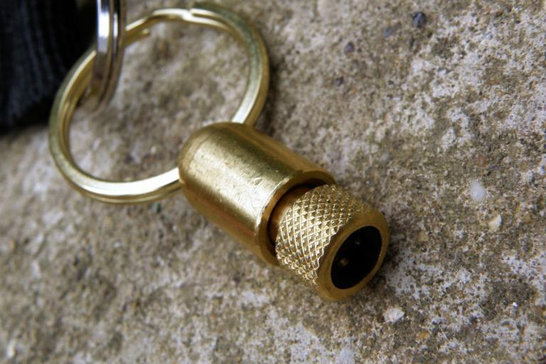 Bullet Pump Adaptor Keyring