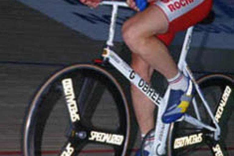 Graeme Obree hour record 1993