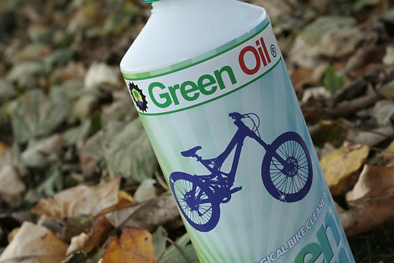 Green Oil Green Clean bike cleaner