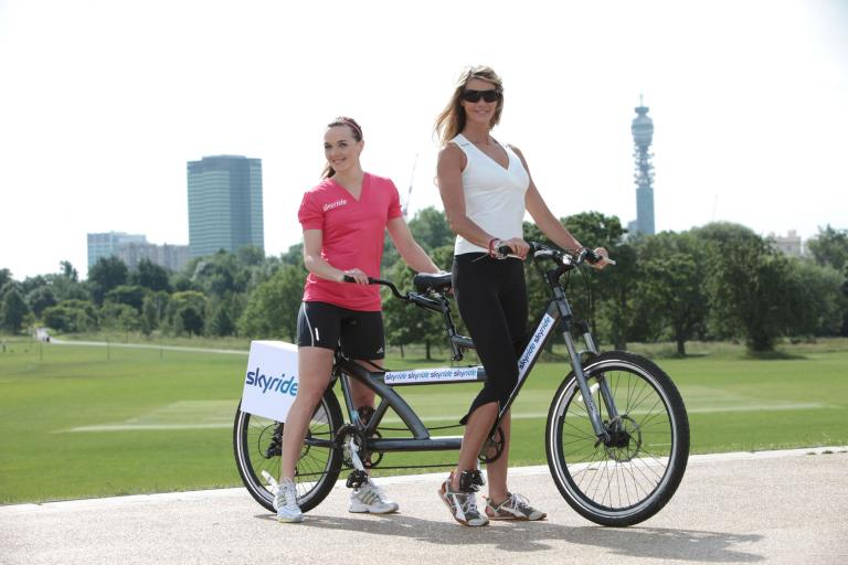 Skyride launch