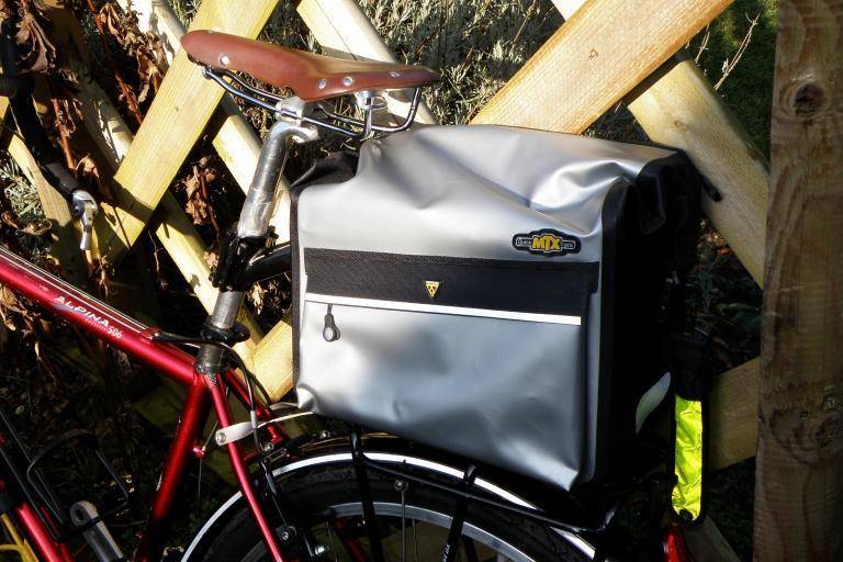 Topeak MTX Trunk Dry Bag in situ