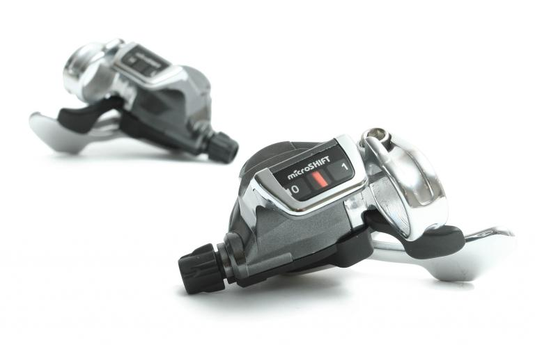 Microshift 10spd flat bar shifters