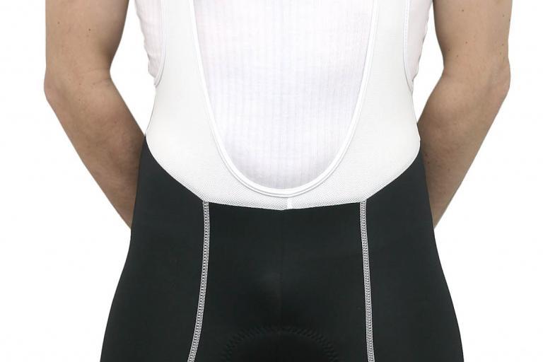 Rose Bib Shorts worn