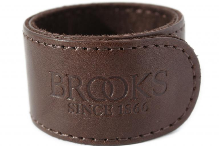 Brooks leather cycle clip