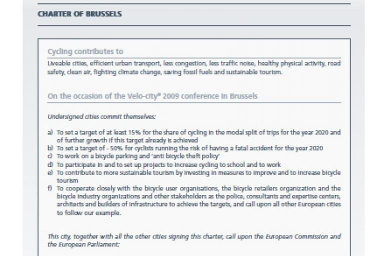 charter of brussels