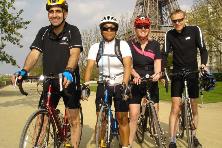 jon collins and team eiffel tower