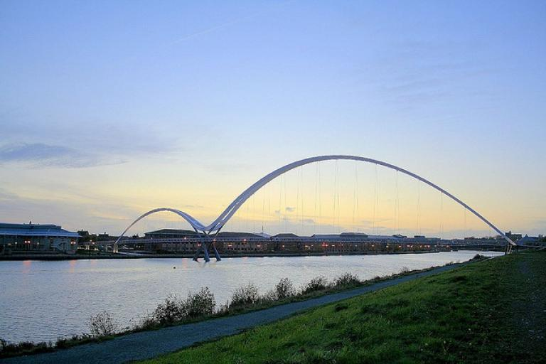 Infinity Bridge, Stockton-on-Tees (CC licensed by s_gibson72 via Flickr).jpg