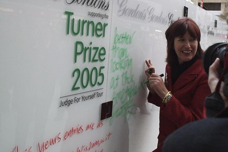 Janet Street-Porter at Victoria Station (CC licensed by Jem Stone via Flickr).jpg