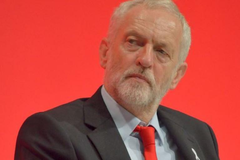 Jeremy Corbyn, cropped (licensed CC BY SA 4.0 on Wikimedia Commons by Rwendland).JPG