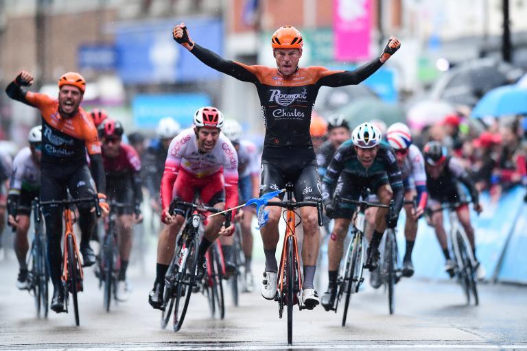 Jesper Asselman wins Tour de Yorkshire 2019 Stage 1 in Ripon – Picture by Alex Broadway, SWpix.com_.JPG