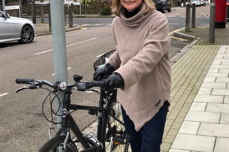 Live blog  Ex -transport secretary swaps car for bike and wins bet 1bee5823b