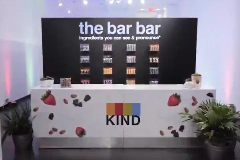 Kind pop-up bar