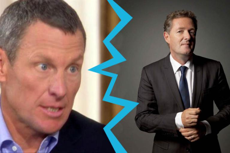 Lance Armstrong and Piers Morgan (pictures Oprah still and CNN publicity shot).jpg