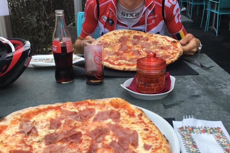 The Last Breakaway pizza