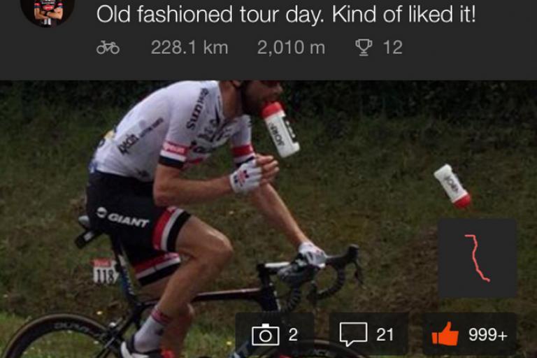 Laurens Ten Dam Tour de France 2016 Stage 3 on Strava.PNG