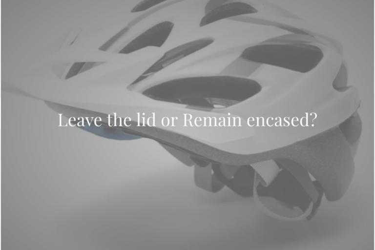 Leave Remain helmet poll cover
