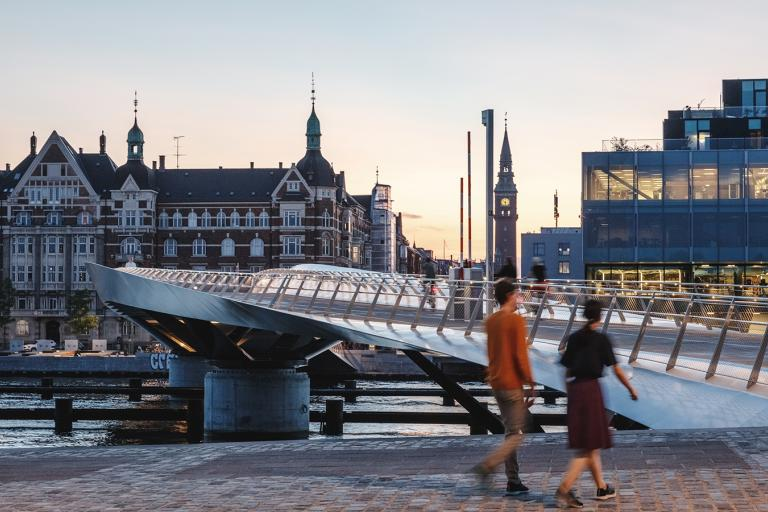 Lille Langebro bridge in Copenhagen (picture credit WilkinsonEyre)