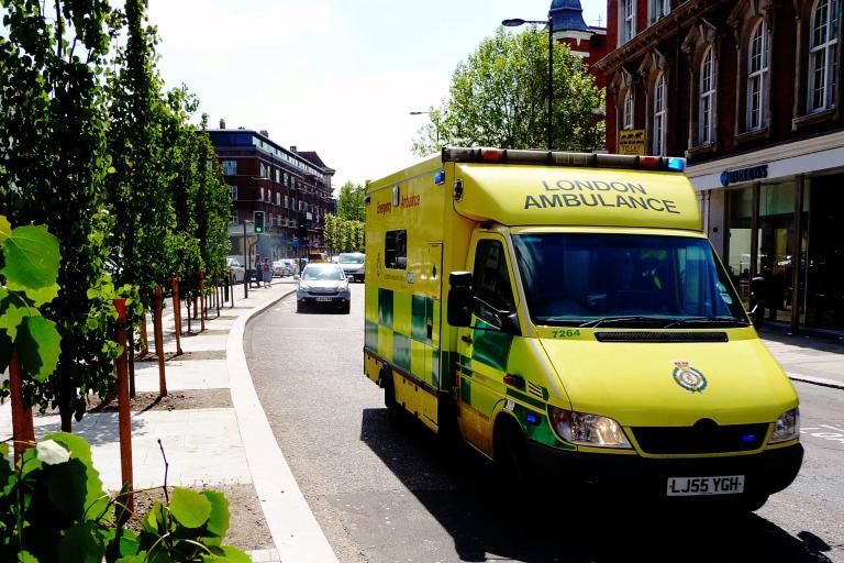London Ambulance (public domain Captain Roger Fenton Flickr)
