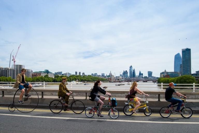 London Bike Week launch (Anthony Upton, Cycling UK)
